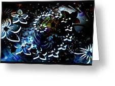 Floral Way Greeting Card
