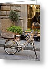 Florence Bicycle  Greeting Card