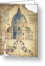 Florence: Brunelleschi Greeting Card