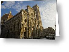 Florence Cathedral  Greeting Card