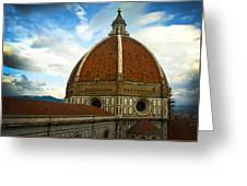 Florence Duomo Italy Greeting Card