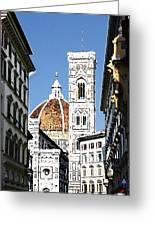 Florence Italy Santa Maria Fiori Duomo Greeting Card