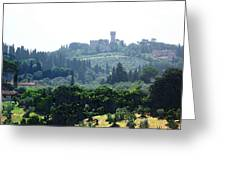 Florence Landscape Greeting Card