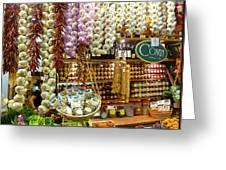 Florence Market Greeting Card