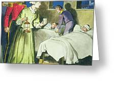 Florence Nightingale From Peeps Greeting Card by Trelleek