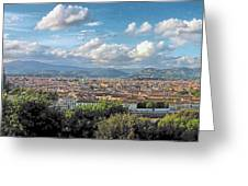 Florence Panorama Greeting Card