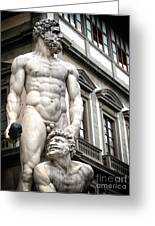 Florence Statue Greeting Card