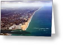 Florida Coast Line-2 Greeting Card