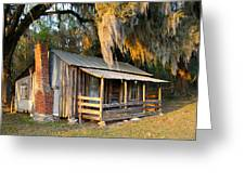 Florida Cracker Cabin Greeting Card