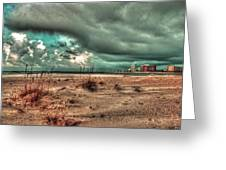 Florida Point Begining Of The Storm Greeting Card