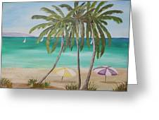 Florida Shade Greeting Card
