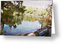 Florida Springs Waiting Greeting Card