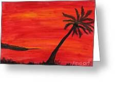 Florida Sunset II Greeting Card