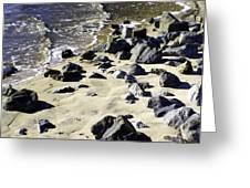 Florida Town Beach Greeting Card