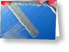 Floridian Abstract Greeting Card