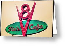 Flo's Cafe Greeting Card