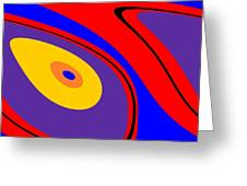 Flow 1 Greeting Card
