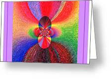 Flower 290c Greeting Card