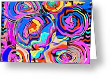Abstract Art Painting #2 Greeting Card