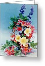 Flower Arrangement 1 Greeting Card