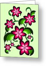 Flower Arrangement Greeting Card