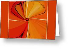 Flower Arrangement Greeting Card by Ben and Raisa Gertsberg