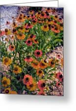 Flower Ballet Greeting Card