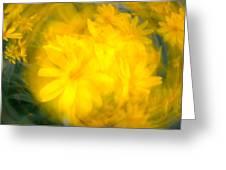 Flower Bowl Greeting Card