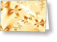 Flower Breeze Greeting Card