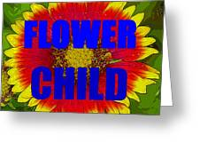 Flower Child Phone Case Work Greeting Card