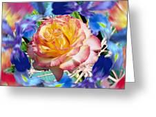 Flower Dance 2 Greeting Card