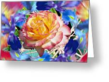 Flower Dance 2 Greeting Card