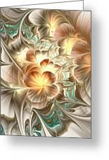 Flower Daze Greeting Card