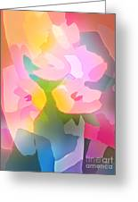 Flower Deco IIi Greeting Card by Lutz Baar