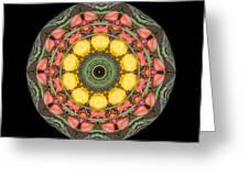 Flower Drum Greeting Card