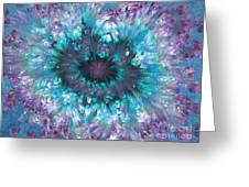 Flower Fantasy 3 Greeting Card