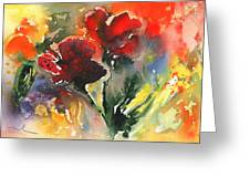 Flower Festival Greeting Card