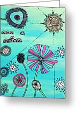 Flower Fever Greeting Card