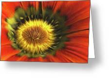Flower Fractal Greeting Card