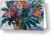 Flower Life Greeting Card