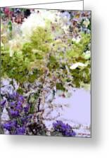 Flower Market Ile De La Cite Greeting Card