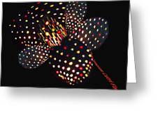 Flower Of Lights Greeting Card