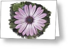 Flower Paint Greeting Card