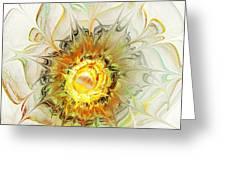 Flower Palette Greeting Card
