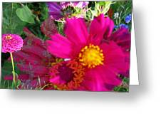 Flower Patch 1 Greeting Card