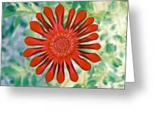 Flower Power 1438 Greeting Card