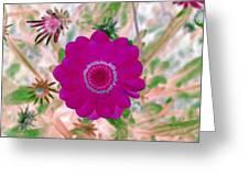 Flower Power 1439 Greeting Card