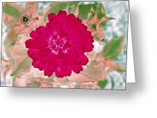 Flower Power 1441 Greeting Card