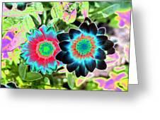Flower Power 1449 Greeting Card