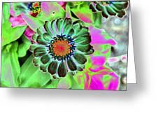Flower Power 1454 Greeting Card